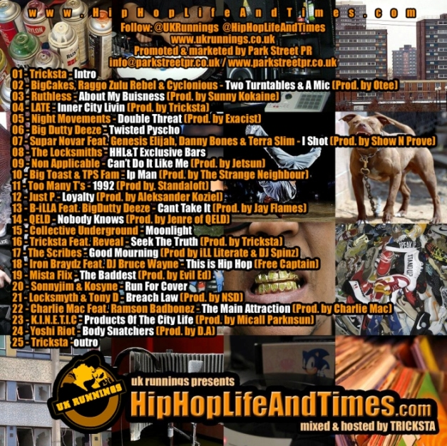 UK Runnings Presents HipHopLifeAndTimes.com - Vol 1 - back