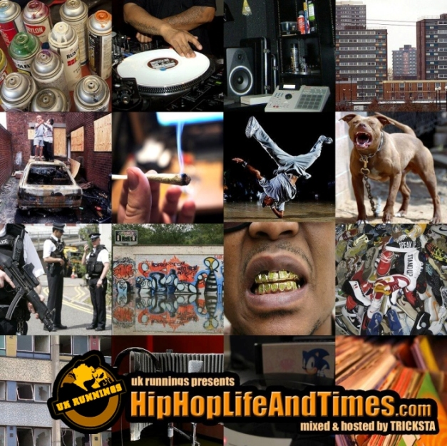 UK Runnings Presents HipHopLifeAndTimes.com - Vol 1 - front