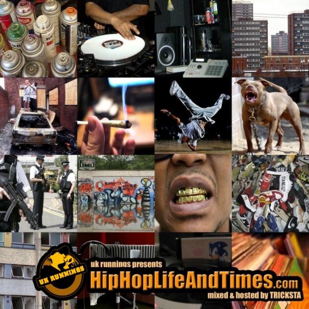 UK Runnings Presents HipHopLifeAndTimes.com - Vol 1 - front