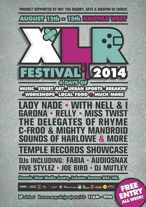XLR Festival 2014 POSTER 500